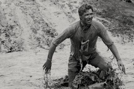 Fella in the muddy water