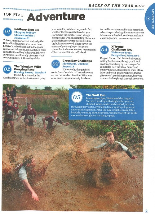 Top 5 Adventure Races of the Year