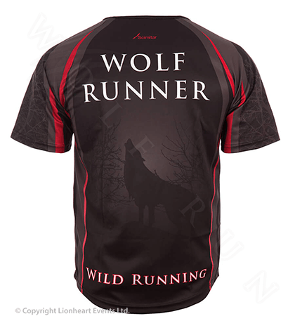 Wolf Run September 2011 Finisher Shirt