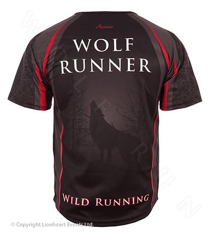 Wolf Run September 2011 Finisher Shirt