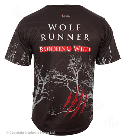 Wolf Run April 2012 Finisher Shirt