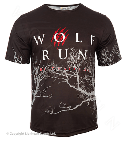 Wolf Run April 2012 Finisher Shirt