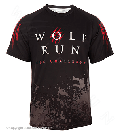 Wolf Run September 2012 Finisher Shirt