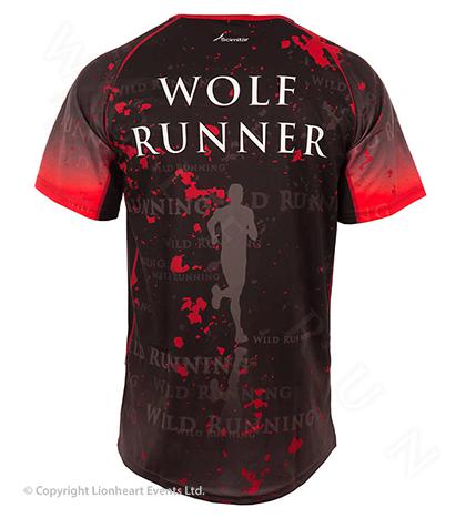 Wolf Run April 2013 Finisher Shirt