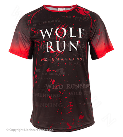 Wolf Run April 2013 Finisher Shirt