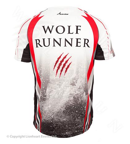 Wolf Run September 2013 Finisher Shirt