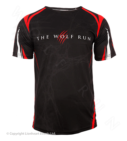 Wolf Run April 2014 Finisher Shirt
