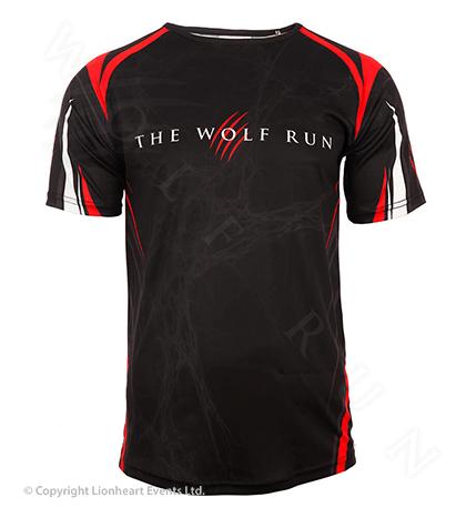 Wolf Run April 2014 Finisher Shirt
