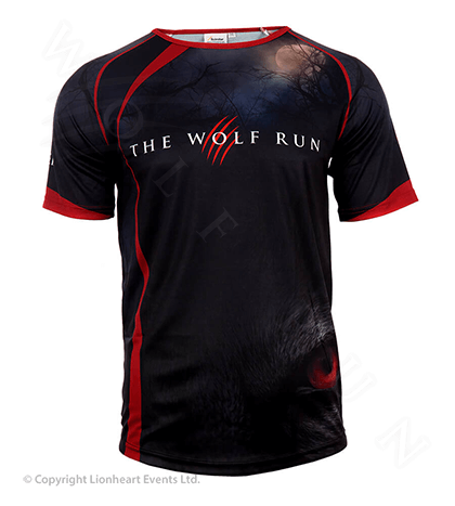 Wolf Run June 2014 Finisher Shirt