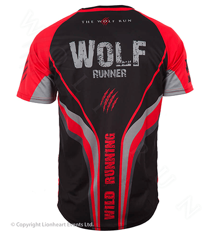 Wolf Run September 2014 Finisher Shirt