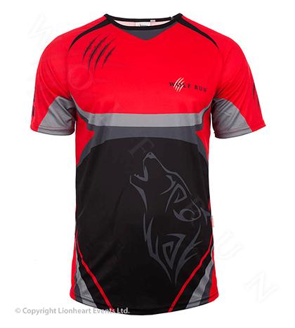 Wolf Run September 2014 Finisher Shirt