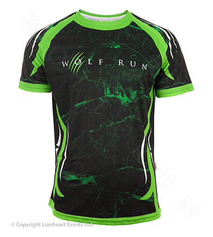 Wolf Run April 2015 Finisher Shirt