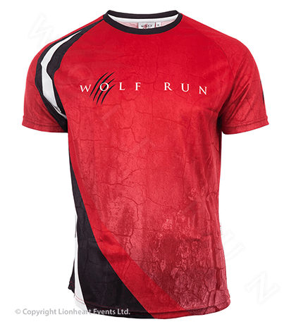 Wolf Run June 2015 Finisher Shirt