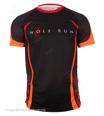 Wolf Run September 2015 Finisher Shirt