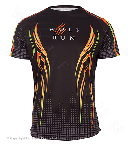 Wolf Run April 2016 Finisher Shirt