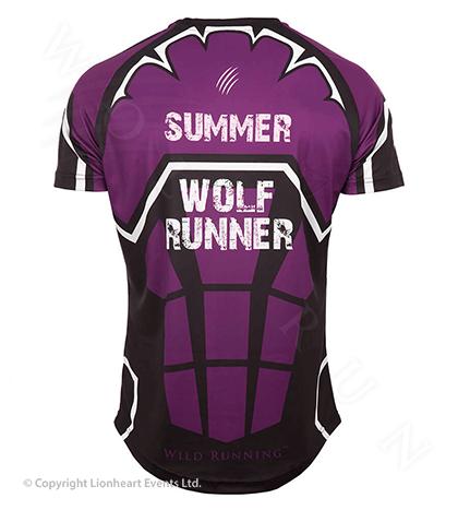 Wolf Run June 2016 Finisher Shirt