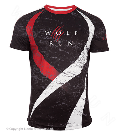 Wolf Run September 2016 Finisher Shirt