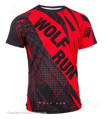 Wolf Run April 2017 Finisher Shirt