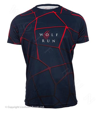 Wolf Run June 2017 Finisher Shirt