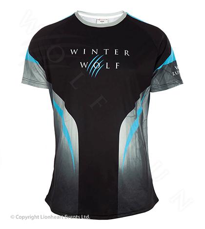 Wolf Run November 2017 Finisher Shirt