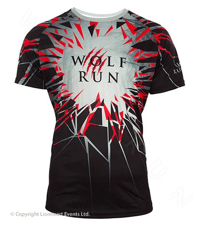 Wolf Run September 2017 Finisher Shirt