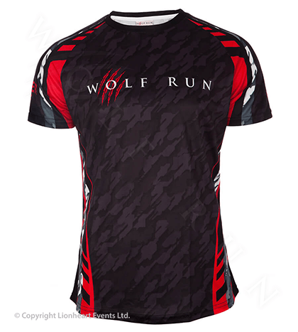Wolf Run June 2018 Finisher Shirt