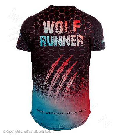Wolf Run April 2019 Finisher Shirt