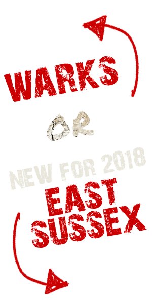 Warks or East Sussex