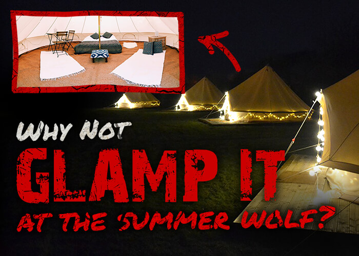 Why not Glamp it at the Summer Wolf?
